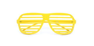 Yellow sunglasses Royalty Free Stock Photography