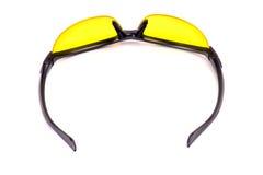 Yellow sunglasses. Reversed. Stock Photos