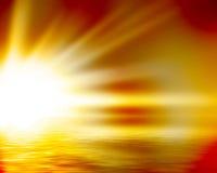 Yellow sunrise Royalty Free Stock Photography