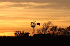 Yellow Sunset stock photos