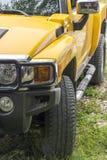 Yellow SUV Stock Image
