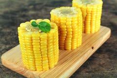 Yellow sweet corn Royalty Free Stock Photo