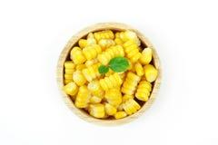 Yellow sweet corn Stock Photo