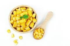 Yellow sweet corn Royalty Free Stock Image