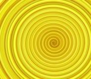 Yellow swirl background Stock Image