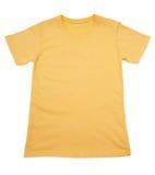 Yellow t-shirt Stock Photo