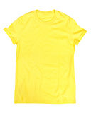 Yellow t-shirt Stock Photography