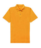 Yellow t-shirt isolated Royalty Free Stock Image