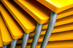 Yellow Tables Stock Images