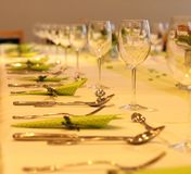 Yellow, Tableware, Stemware, Wine Glass Royalty Free Stock Photography