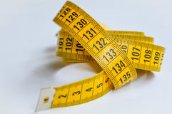 Yellow tailor meter Stock Photography