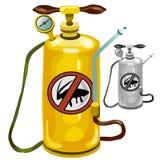 Yellow Tank An Exterminator Stock Image