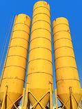 yellow tanks Royalty Free Stock Photos