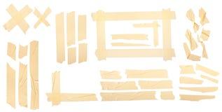 Yellow tape vector illustration
