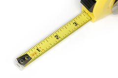 Yellow Tape Measure Royalty Free Stock Images