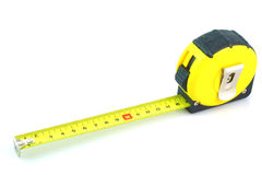 Yellow Tape Measure Royalty Free Stock Photography