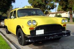 Yellow taxi Royalty Free Stock Photos