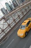 Yellow taxi. Stock Photos