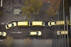 Yellow Taxi Cabs Stock Images