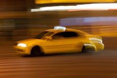 Yellow taxi Stock Photos