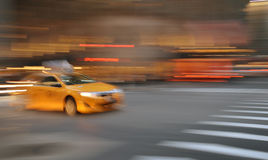 Yellow taxi. Stock Image