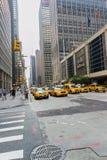 Yellow taxy Royalty Free Stock Photo