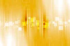 Yellow technology abstract background. Light yellow technology abstract background Royalty Free Stock Photo