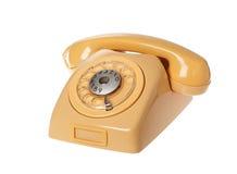 Yellow telephone Royalty Free Stock Photos