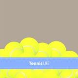 Yellow tennis balls Royalty Free Stock Photos
