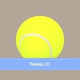 Yellow tennis balls Stock Photo