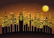 Yellow, Text, Metropolis, Night Stock Photos