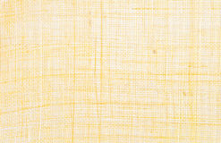 Yellow textile background Royalty Free Stock Photo