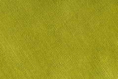 Yellow textile background Stock Images