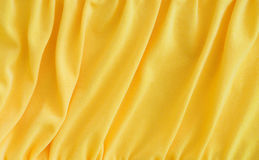 Yellow textile Stock Images