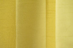 Yellow Textile Texture Royalty Free Stock Images