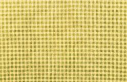 Yellow textile textured background Royalty Free Stock Image
