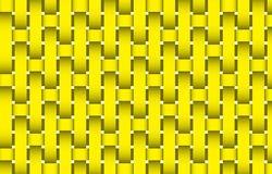 Yellow texture. Yellow threads texture material or background Vector Illustration