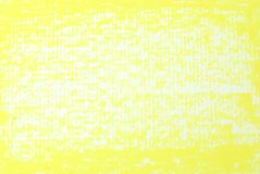 Yellow texture background from oil pastels Stock Photo