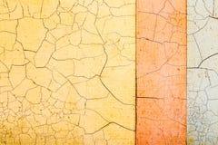 Yellow texture. crack Stock Photo
