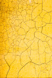 Yellow texture. crack Stock Image