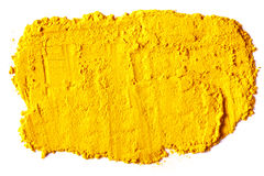 Yellow Texture made from turmeric Royalty Free Stock Images