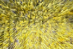 Yellow texture with patterned sharp abstraction Royalty Free Stock Images