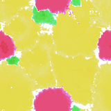 Yellow texture. Vector murble background. Watercolor hand drawn Stock Image