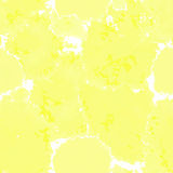 Yellow texture. Vector murble background. Watercolor hand drawn marbling illustration, aqua print. Bright colorfull stains. Stock Images