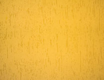 Yellow texture wall finish Stock Image