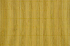 Yellow textured bamboo background Royalty Free Stock Photos