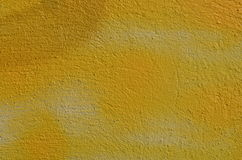 Yellow textured wall Royalty Free Stock Photography