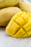Yellow Thai mango Royalty Free Stock Photos