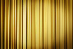 Yellow Theater Curtains. Theater stage yellow curtains ready to open for a live performance Royalty Free Stock Photo