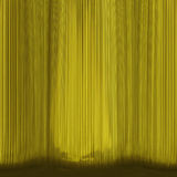 Yellow theatre-curtain abstract Stock Photos